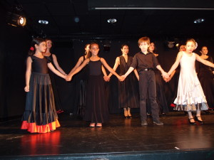 Les petits flamencos